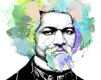 Frederick Douglass // Portrait Art Print