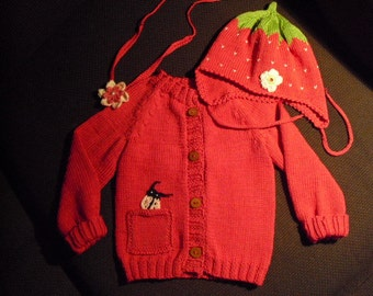 Baby jacket, Cardigan set