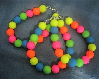 80's Neon Bracelet