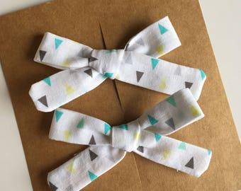 Saydee Pigtail Bows- handmade baby/toddler bows