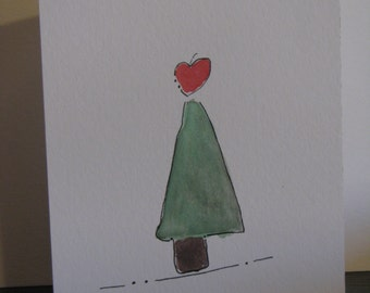 Cute Christmas Tree Card