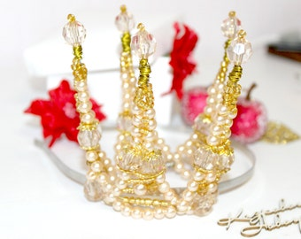 Gold crown for princess