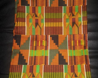 Kente AFRIKAN Scarf, BY Indigenous Efua Asaleh