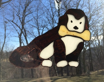 Stained Glass Dog