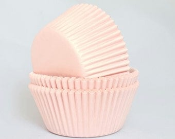High Quality Light Pink Standard Size Cupcake Cases Cupcake Liners