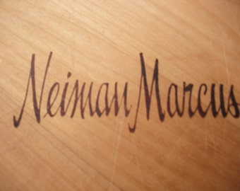 Wooden chopping board - Nieman Marcus Texas Shape