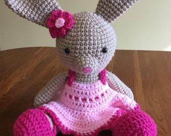 Bunny rabbit - Easter Bunny - stuffed bunny - rabbit - easter gift