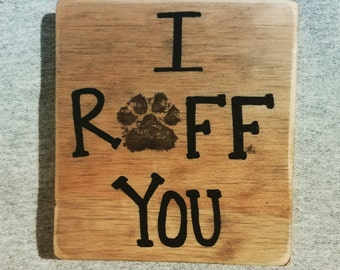 I ruff you sign