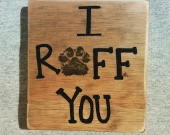 I ruff you sign
