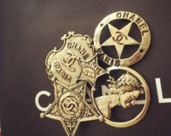 Sheriff style Brooch