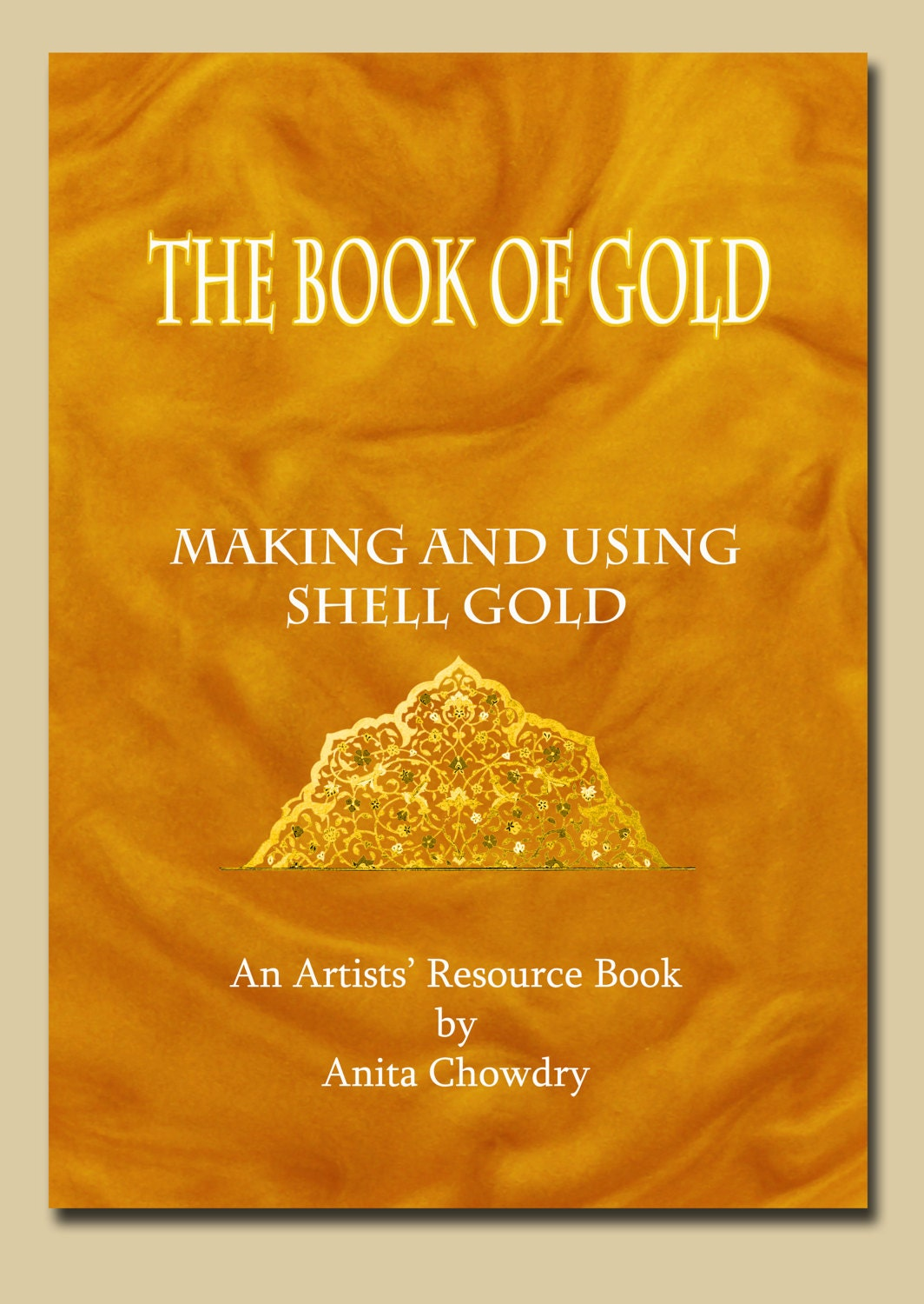 """The Book of Gold"" – Gold pigment tutorial available from my Etsy shop"