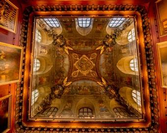 Louvre, Paris Wall Art, Paris Architecture, French Home Decor, Paris Print, Fine Art Photography, Paris Photo, French Architecture