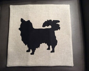 Long-Haired Chihuahua Cushion Cover