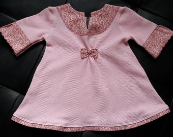 Lilirose: froufrou and liberty while tenderness to celebrate spring! Dress baby girl.