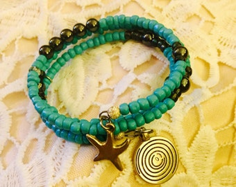 Beach babe wrap bracelet