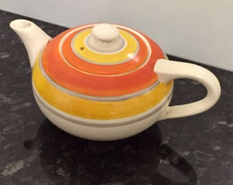 Grays Pottery Susie Cooper Banded Tea Pot