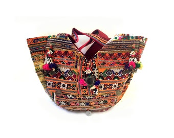"Deluxe Banjara   Gujarat Tote bag ""RADHA"""