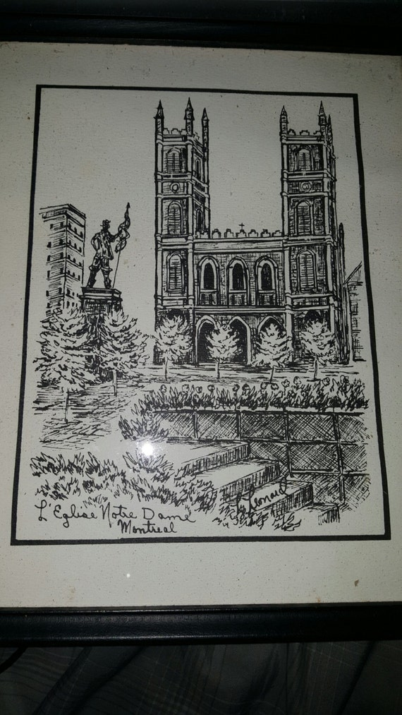 Nice Sketch Artwork by L. Leonard