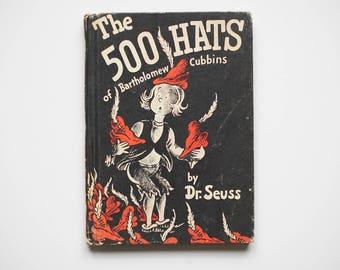 "Dr. Deuss ""The 500 Hats of Bartholomew Cubbins"" - Book Club Edition"