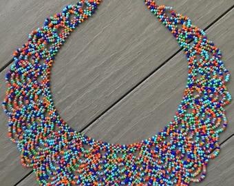 Guatemalan Necklaces.