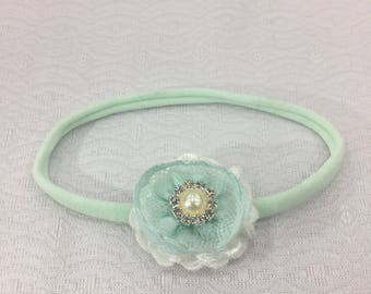 Tiny flower headband