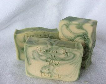 Garden Mint Handmade Soap