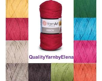 RIBBON YARN ART -  60% cotton 40 ViscosePolyester- 250g 125m turkish yarn