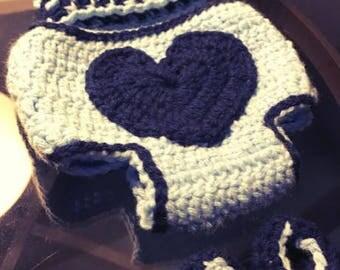 Baby Boy Diaper Cover Set