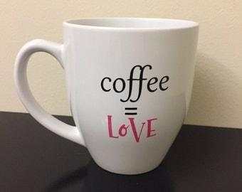 ON SALE: Coffee is love mug