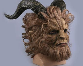 Movie Beauty and the Beast Adam Prince Mask