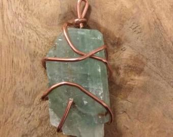 Wire wrapped gem