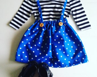 The 'Elsa set' in stripes and polka dots