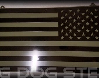 Assault Forward Flag Wall Hanging with Back Panel