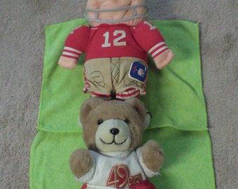 1981 49er Trudy Teddy Bears.