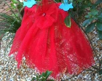 Red Net Skirt