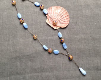 Vintage venetian glass necklace
