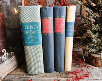 Old Books - Poetry & Prose