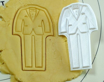 Tuxedo Cookie Cutter and Stamp