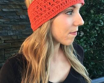 Crocheted Headband/Ear Warmer