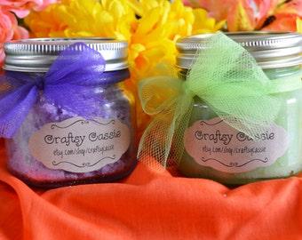 Sugar Scrub Wet 'n' Dry Combo - two 8 oz jars
