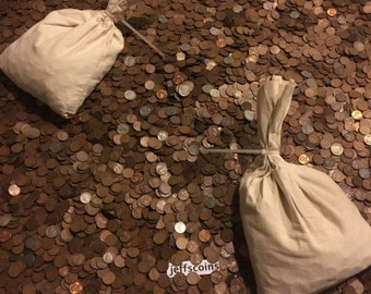 1 LB Pound Unsearched Wheat Cents Lincoln Pennies ~ Estate Sale Coins Lot~ 1909-58~GREAT VALUE