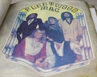 Vintage Fleetwood Mac Iron On Transfer