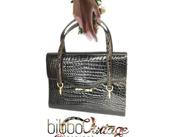 60 years crocodile bag
