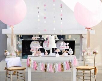 "Giant Balloon - Giant 36"" Balloon Round Balloons | Giant Balloons | Wedding Balloons | Big White Balloons | Baby Shower Balloon"