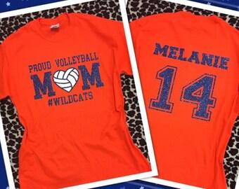 Proud Volleyball Mom tshirt