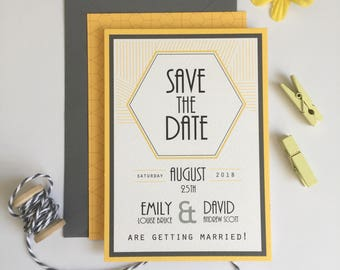 Save the Date Wedding Stationery Suite - SAMPLE | Gabrielle Range