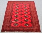 Shiraz Rug, area rug, Runner carpet, vintage carpet, Handmade rug, wool rug, home decor rug,  house warming gift rug Size 4.4′ X 6.1′