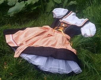 Dirndl skirt, petticoat, tulle
