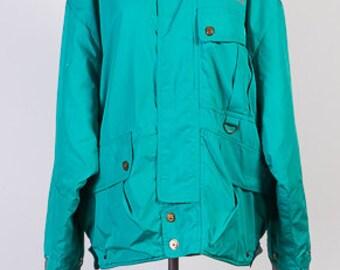 Vintage jacket, Mens Ski Jacket , Snow Jacket, Hipster Ski Jacket, Winter Activewear, Sport Jacket, Size M,Ski Jacket