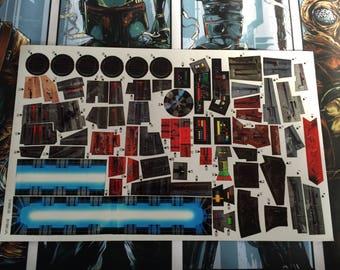 Star Wars Decal Etsy - Star wars custom die cut stickers